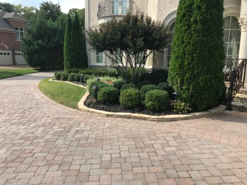 Landscape Curb with Established Install